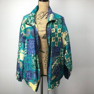Basic Editions Dead Stock 100% Silk Jacket